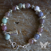 Boho Jasper Inspiration Bracelet - Create from A Single Dream