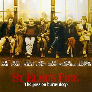 St Elmo's Fire Movie Poster 11x17
