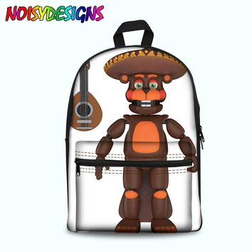 At Backpack For Teen Bonnie Fazbear Freddy Chica Backpack Boys Girls School Bags Kids Bags ping
