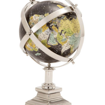 Benzara The Colorful Metal World Globe