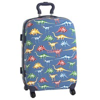 Mackenzie Blue Multicolor Dino Hard Sided Spinner Luggage