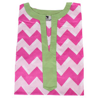 Chevron Pink Tunic, Pajamas
