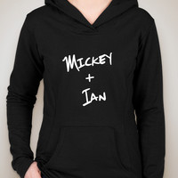 "Shameless TV Show ""Mickey + Ian"" Unisex Adult Hoodie Sweatshirt"