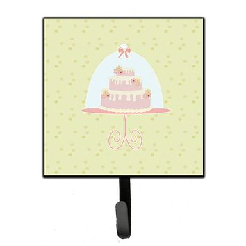 Decorated Cake on Green Leash or Key Holder BB7306SH4
