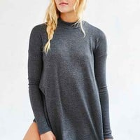 Silence + Noise Allison Mock-Neck Top