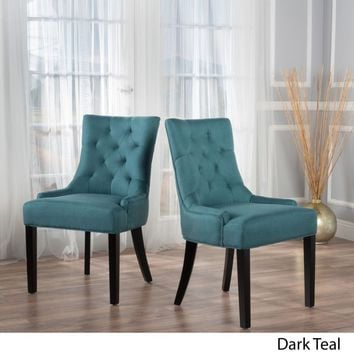 Fabric Dining/ Accent Chair (Set of 2) by Christopher
