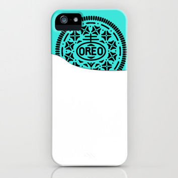 Milk and cookie (Phone Case) iPhone Case by NKlein Design | Society6