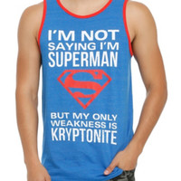 DC Comics Superman Not Saying Tank Top