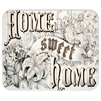 Currier and Ives Home Sweet Home Mousepad