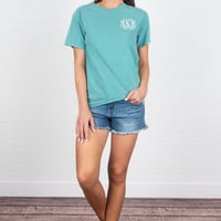 Comfort Colors: Life Is Easy T-Shirt, Seafoam