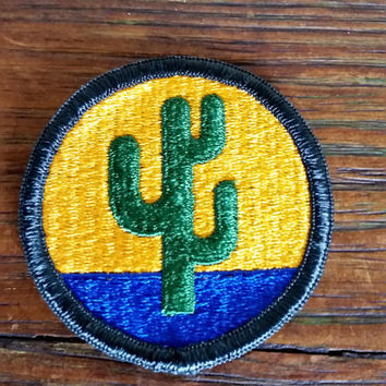 Patches for Jackets, Cactus Patch, Vintage Patches, Military Patches