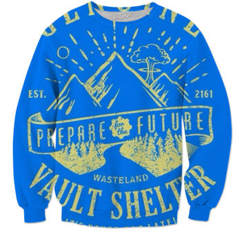 Prepare For The Future Vault Shelter Fallout 4 Sweatshirt