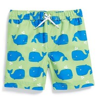 Infant Boy's Little Me 'Whale' Swim Trunks