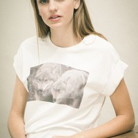 CALEIGH 3D WOLVES TOP