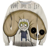 Creepy adventure time' Hoodie