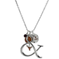Texas Longhorns Ampersand Multi-Charm Necklace