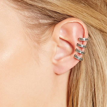 Cutout Ear Cuff Set