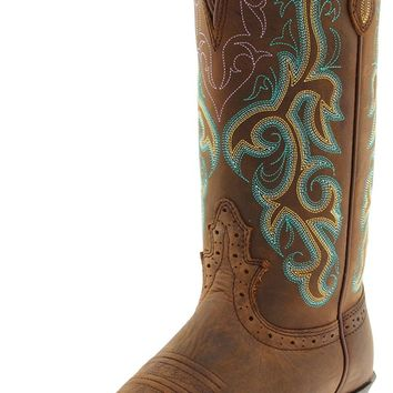 """Justin Boots Women's 12"""" Stampede Boot"""