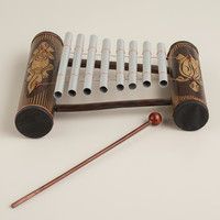 Turtle and Gecko Indonesian Gamelan Instrument - World Market