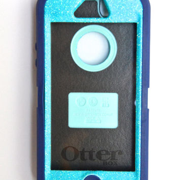 Otterbox Case iPhone 5 Glitter Cute Sparkly Bling by NaughtyWoman