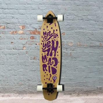 "Madrid Lava Dude Flex Carving 38"" Longboard"