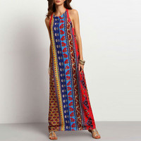 Print Women's Fashion Maxi Dress = 5893431361
