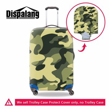 Camouflage trolley luggage covers,cool spandex luggage covers for men,luggage protective covers elastic for 18-30 inch suitcase