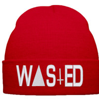wasted beanie winter hat