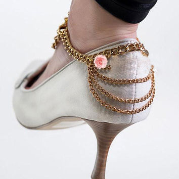 New Fashion Summer Elegant Personality Anklet Ankle shoe