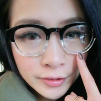 Retro small Eyeglass Frame Clear Glasses Eyewear Fashion Full-Rim Spectacles Rx able