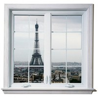Windowscape France Series The Eifel Tower Vinyl by WilsonGraphics