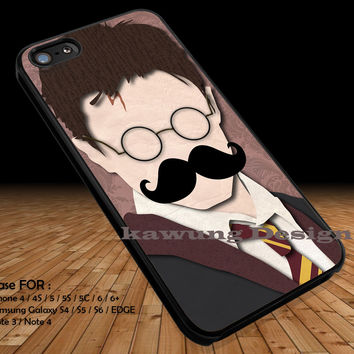 Funny Face Harry Potter iPhone 6s 6 6s+ 5c 5s Cases Samsung Galaxy s5 s6 Edge+ NOTE 5 4 3 #movie #HarryPotter DOP276