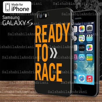 KTM Ready To Race  For Samsung Galaxy S3 / S4 / S5 and IPhone 4 / 4S / 5 / 5S / 5C Case