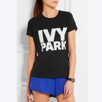 Beyonce Women T Shirt Clothes IVY Park Letter Print Tee Tops Summer Woman T-shirts Cotton Camiseta Mujer T-shirt QA1050