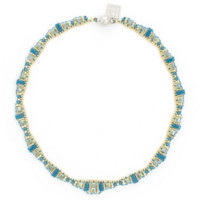 Tribal Valley Choker Necklace