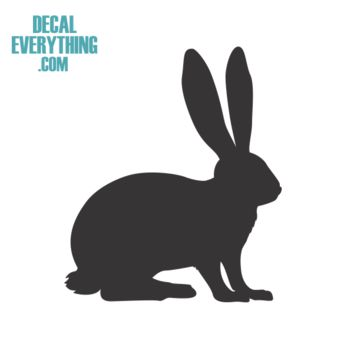 Rabbit Decal - Animal Decals