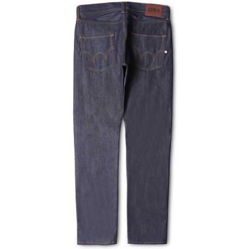 Edwin Jeans ED-55 Relaxed Tapered Compact - Indigo Unwashed raw