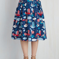 Far-Out and Fabulous Skirt in Seaside