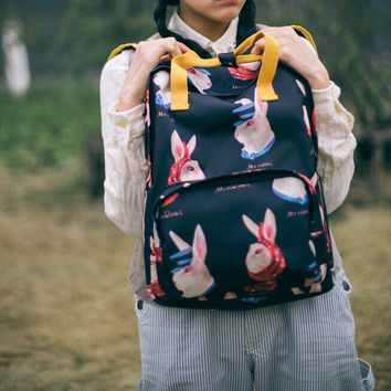 The Mr & Miss Bunny Backpacks