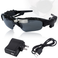 New Wireless Bluetooth Sunglasses Headset Headphones For iPhone Samsung HTC Nokia AP (Color: Black) = 1651171012