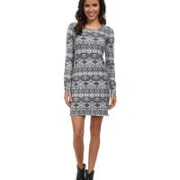 Rock and Roll Cowgirl L/S Knit Dress