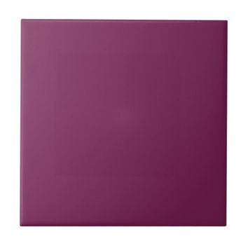 Plain Wine Ceramic Tile