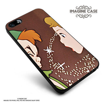 Disney Peter Pan Kissing 4 case cover for iphone, ipod, ipad and galaxy series