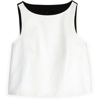 Tibi Ponte Combo Cropped Top