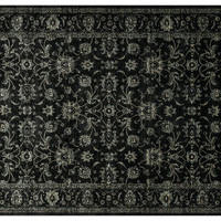 Callum Rug, Black, Area Rugs