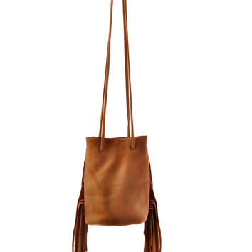 Noe Petite With Fringe Brown