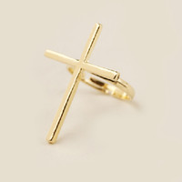 Everyday Cross Ring