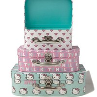 suitcase storage set
