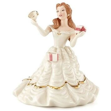 Lenox Disney's Belle's Birthday Surprise Figurine