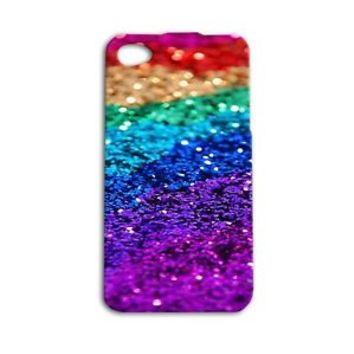 Beautiful Glitter Rainbow Pretty Cover Cute Case iPhone
